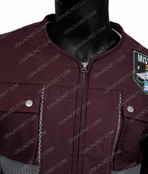 Lost In Space Maxwell Jenkins Brown Jacket