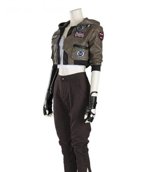 Love, Death and Robots Sonnie Brown Leather Jacket