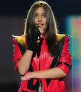 Michael Jackson Style Tribute Concert Christina Aguilera Red Jacket