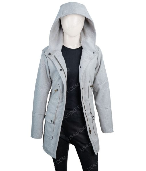 Marta Cabrera Knives out hooded Coat