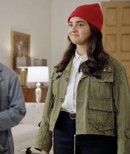Geraldine Viswanathan Miracle Worker Military Jacket