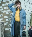 Miracle Workers Daniel Radcliffe Denim Trench Coat