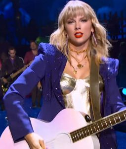 Taylor Swift Miss Americana Sequins Blazer