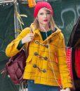 Mustard Checkered Taylor Swift Coat