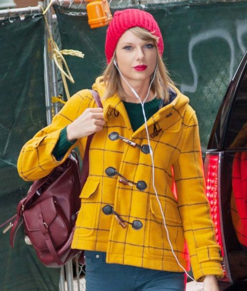 Taylor Swift Paddington Loves Duffle Jacket