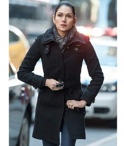 Power Season 02 Lela Loren Black Coat
