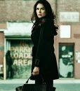 Power Season 02 Lela Loren Black Coat
