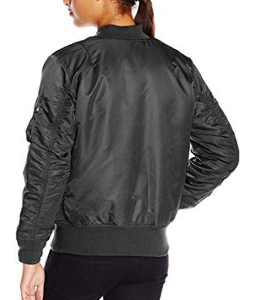 Natasha Romanoff Black Widow 2021 Bomber Jacket