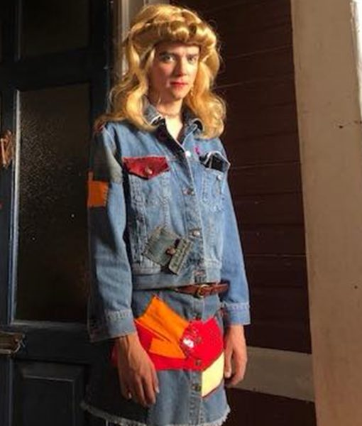 Asa Butterfield Sex Education S01 Blue Denim Jacket