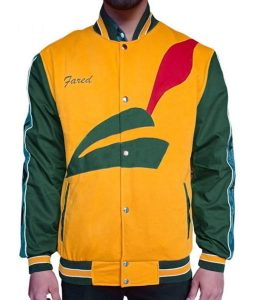 Donald Jared Pied Piper Letterman Jacket