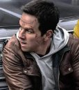 Spenser Confidential Mark Wahlberg Brown Leather Jacket