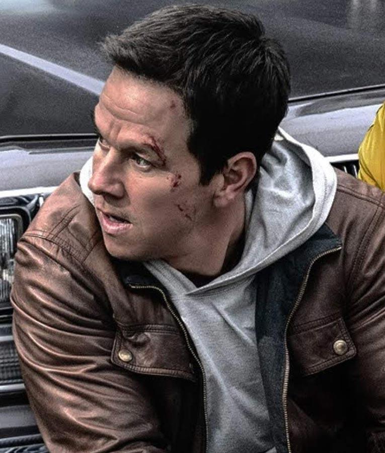 Spenser Confidential Mark Wahlberg Brown Jacket Usajacket