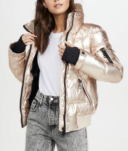 Amanda Zhou Spinning Out Quilted Jacket