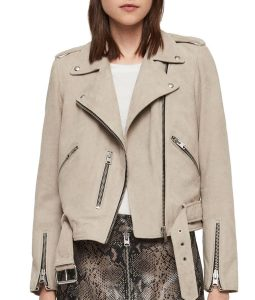 Kat Baker Suede Leather Jacket