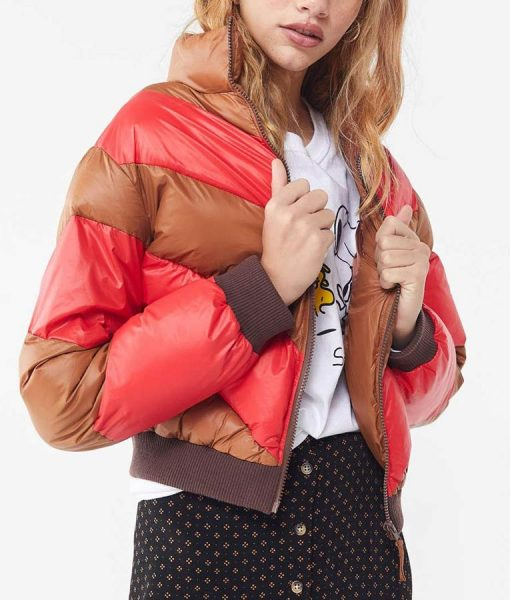 Serena Baker Spinning Out Puffer Jacket
