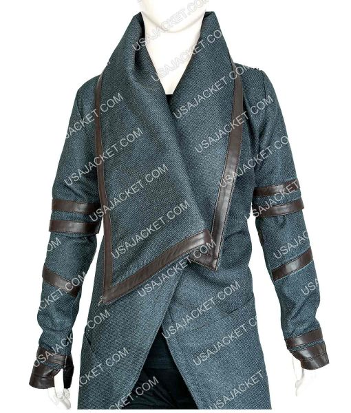 Star Trek Picard Dahj Coat With Hood