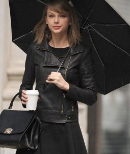 Taylor Swfit Moto Leather Jacket