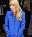 Taylor Swift Blue Coat