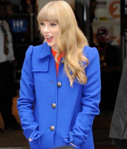 Taylor Blue Coat