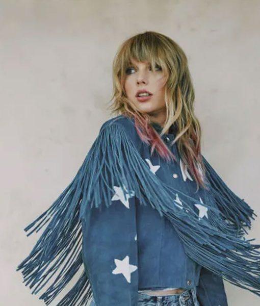 Taylor Swift Fringe Jacket