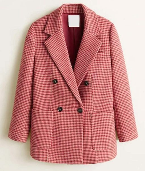 Taylor Swift Houndstooth Coat