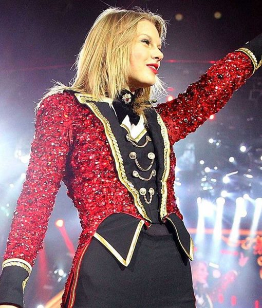 The Red Tour Taylor Swift Red Tail Coat