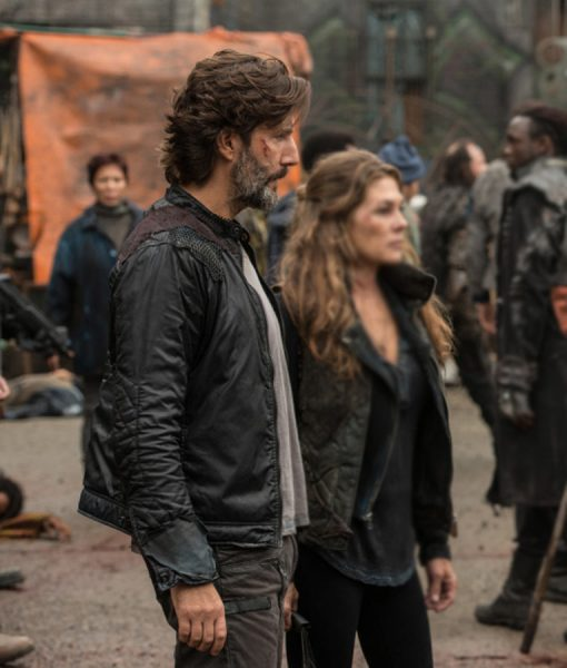 The 100 Season 03  Henry Ian Cusick Jacket