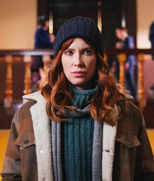 The Gloaming Detective Molly McGee Shearling Jacket