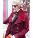 The Personal History of David Copperfield Peter Capaldi Maroon Coat