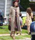 Zoe Kazan Coat