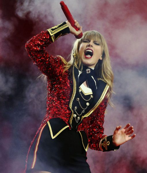 Taylor Swift The Red Tour Tail Coat