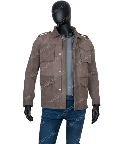 The Stranger Adam Price Suede leather Jacket