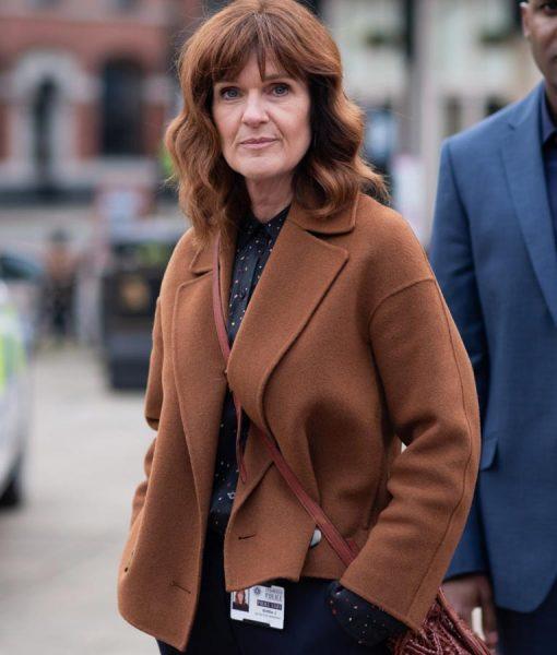 The Stranger Siobhan Finneran Brown Jacket