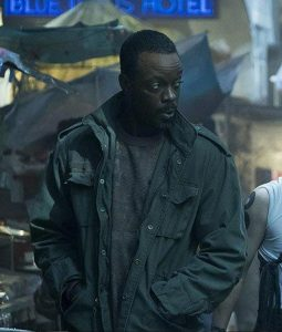 Ato Essandoh Altered Carbon Military Jacket