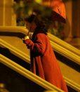 Amy Adams The Woman in the Window Fleece Coat