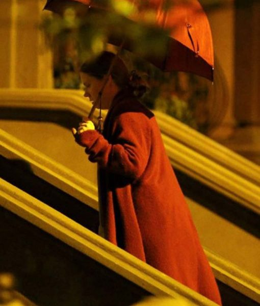 The Woman in the Window Anna Fox Fleece Coat