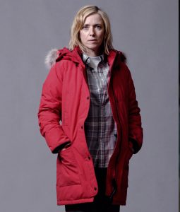 War of the Worlds Red Parka Jacket