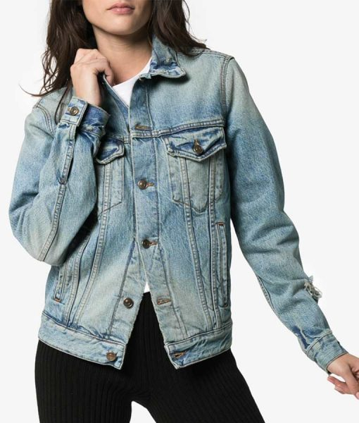 Stumptown Desert Landscape Denim Jacket