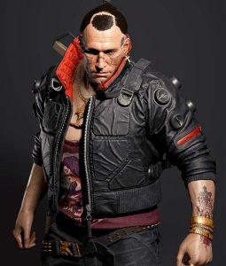 Cyberpunk 2077 Jackie Welles Black Bomber Jacket