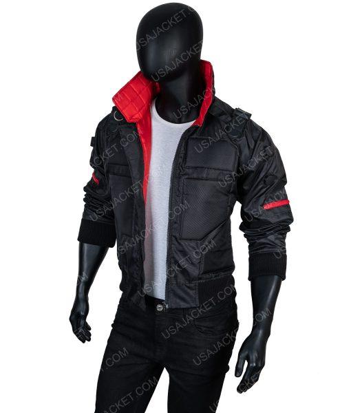 Cyberpunk 2077 Jackie Welles Bomber Leather Jacket