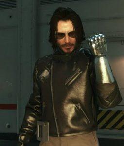 Cyberpunk 2077 Johnny Silverhand Leather Jacket