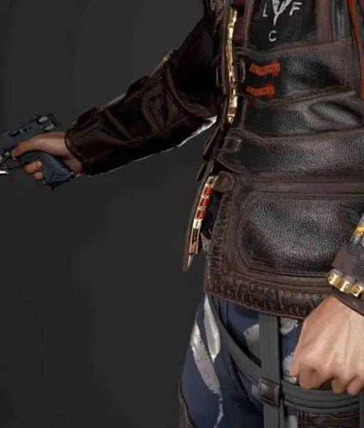 Cyberpunk 2077 Simon Randall Royce Leather Jacket
