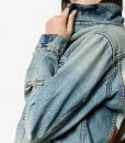 Desert Landscape Denim Jacket