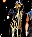 Dustin Patrick Runnels Jr WWE Wrestler Gold Dust Leather Coat