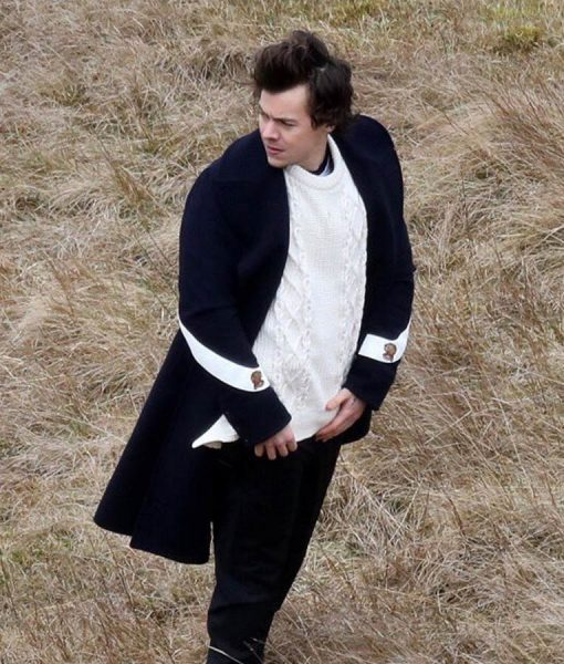 Harry Styles Sign of the time coat