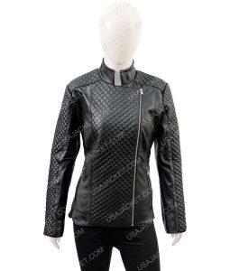 Isabella Biker Quilted Jacket