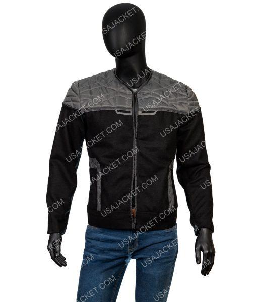 Star Trek Picard Grey and Black Jacket