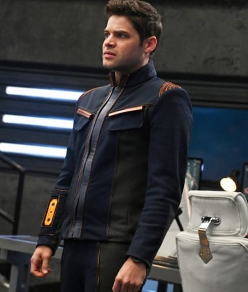 Winn Schott Supergirl Season 05 Jacket
