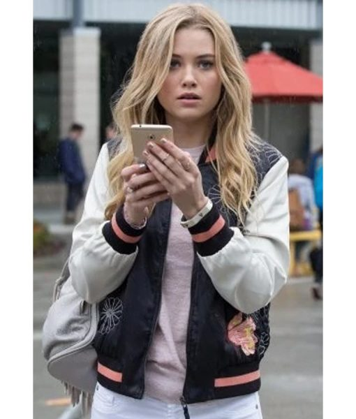 Virginia Gardner Marvel's Runaways Bomber Jacket