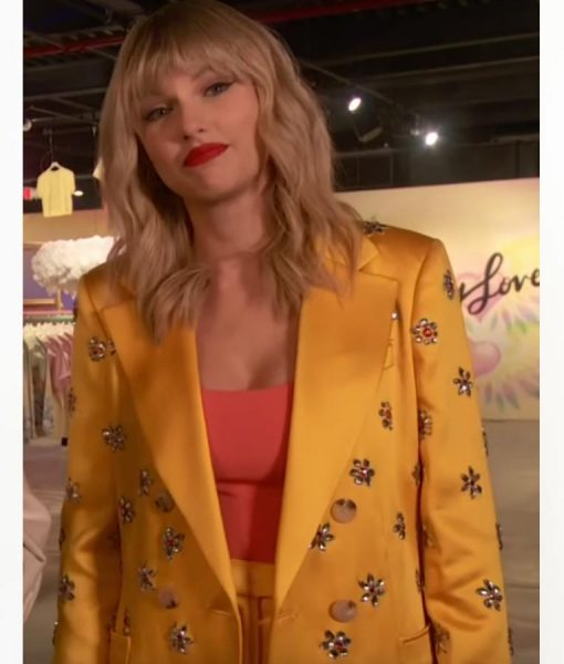 Taylor Swift Yellow Stain Coat